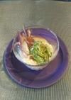 タラコ&絹ごし豆腐のカップサラダ