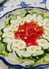 トロピカル✿な見た目のサラダ