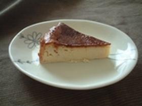 ミキサーで混ぜるだけ☆簡単チーズケーキ
