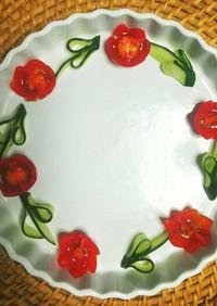 トマトで可愛い!飾り切り