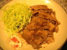 豚の生姜焼き☆マヨ一味☆