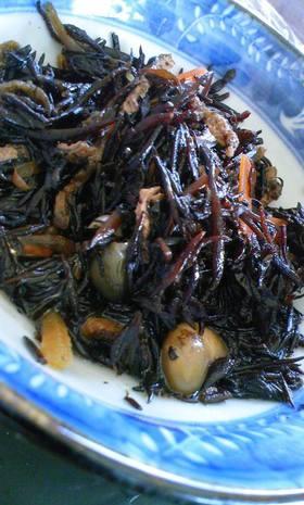 基本★ひじきの煮物