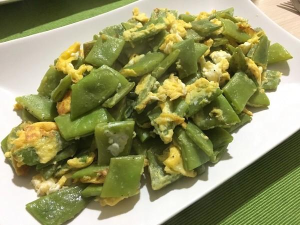 モロッコいんげんと卵の炒め物☆トルコ