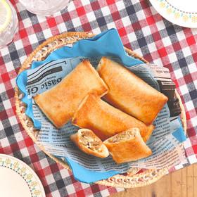 食パンでピロシキ♪