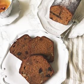 胡桃の焦がしキャラメルパウンドケーキ
