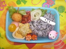 ぱんくろう弁当(キャラ弁)
