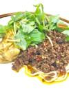 汁なし坦々麺*山椒とごまの風味薫る*