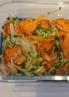 *野菜も摂れる~鮭の南蛮漬け*