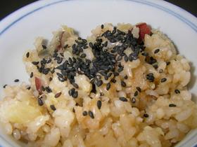 玄米炊き込みご飯~さつま芋ご飯編