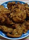 中華風の下味で、鶏もも肉の唐揚げ