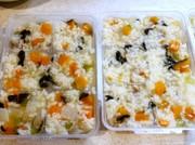 離乳食も簡単♪ 炊飯器で 鶏肉野菜お粥の写真