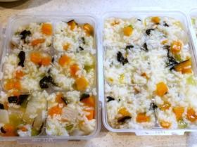 離乳食も簡単♪ 炊飯器で 鶏肉野菜お粥