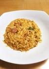 簡単♡パラパラキムチ炒飯