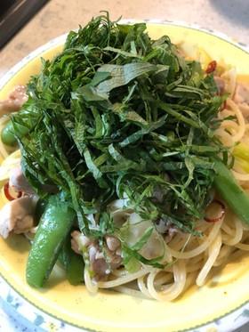 松茸のお吸い物の素で作る激ウマ和風パスタ