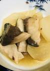 ブリ大根●ブリの切り身と薄切り大根の甘煮