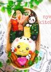 『パンダなピカチュウ♪』弁当♡キャラ弁♡