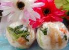 小松菜の鰹ぶし和えきんぴら1口おにぎり❤