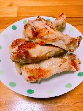 フライパンですぐ♡手羽元のマヨ醤油焼き
