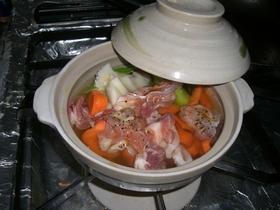 豚肉と大根のさっぱりなべ