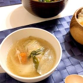 簡単!白菜ロールスープ