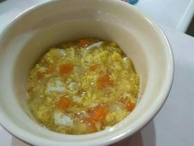 離乳食 後期完了期 野菜と卵のスープ