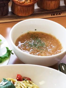 タップリ新玉ねぎのオニオンスープ