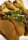 超楽々 鶏肉 大根の旨カレー煮込み