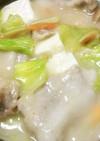 5分で豆腐の和風クリーム煮
