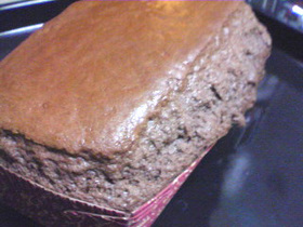 簡単♪ココアパウンドケーキ