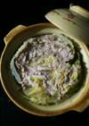 お鍋の素で白菜と豚挽き肉のミルフィーユ