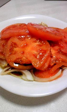 トマトのバルサミコ和え