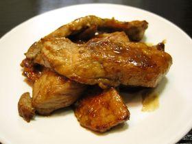 豚肉の柚子胡椒焼き