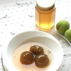 梅ジュースの梅で…梅ジュレ(梅ジャム)