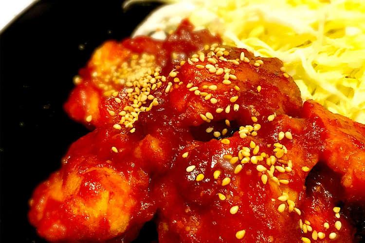 レシピ ヤンニョム 人気 チキン