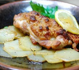 鶏肉のピーナツマヨネーズ焼き
