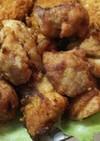 簡単・塩麹に漬け込んだ鶏モモの唐揚げ