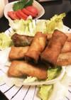 春巻き 豚チーズ甘辛巻き