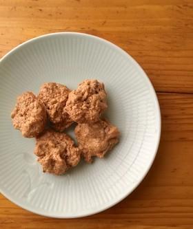 メレンゲくるみクッキー【簡単・卵白消費】