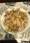 簡単、根菜と豚肉のうま煮。