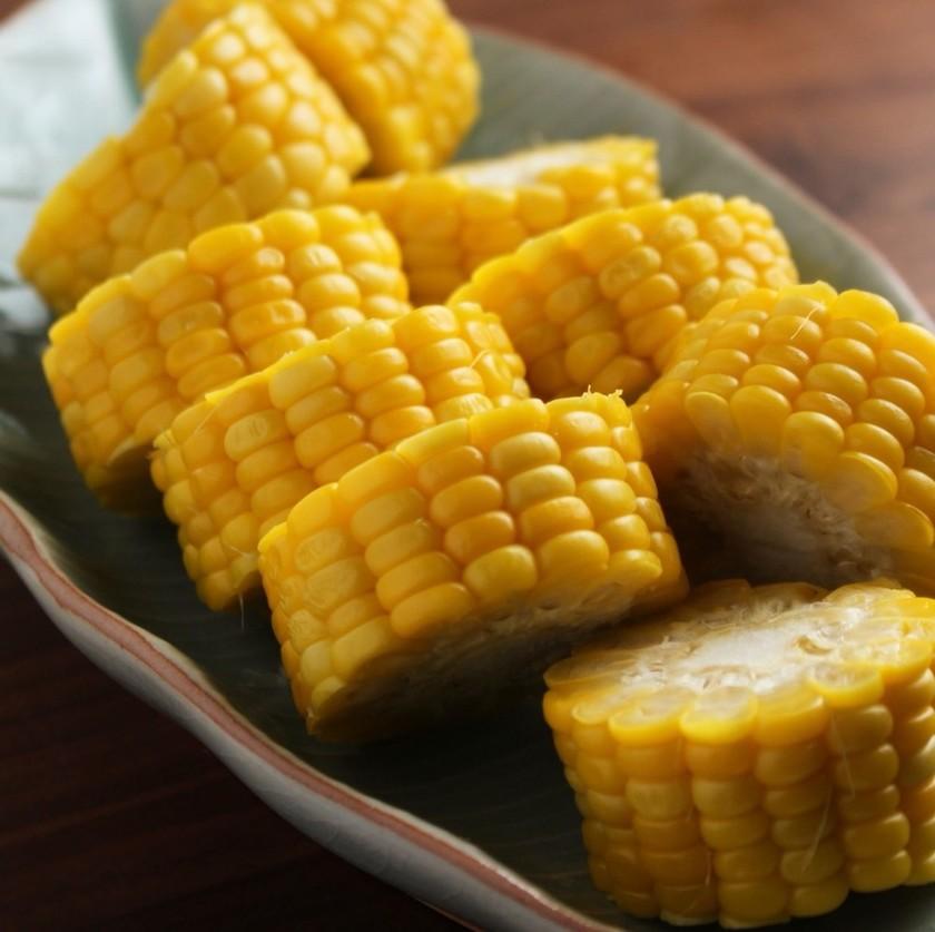 トウモロコシの甘くて美味しい茹で方
