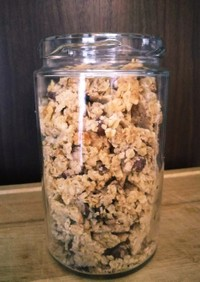 米粉の小豆グラノーラ