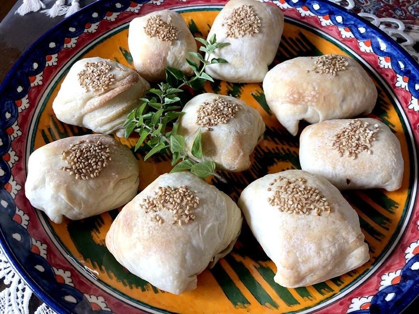 ウズベキスタン♡簡単パイ生地牛肉サモサ