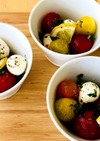 トマトとモッツァレラのコロコロサラダ