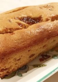 米粉と梅ジャムのパウンドケーキ