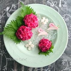 紫陽花サラダ