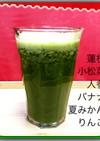 蓮根と果物、野菜ジュース
