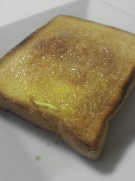 簡単☆おなかにやさしいトースト