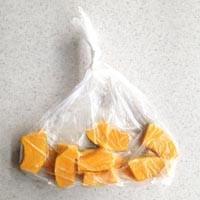 水小さじ1の温野菜『基本のかぼちゃ』