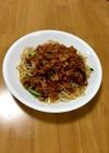 大人の給食☆炒めジャージャー麺