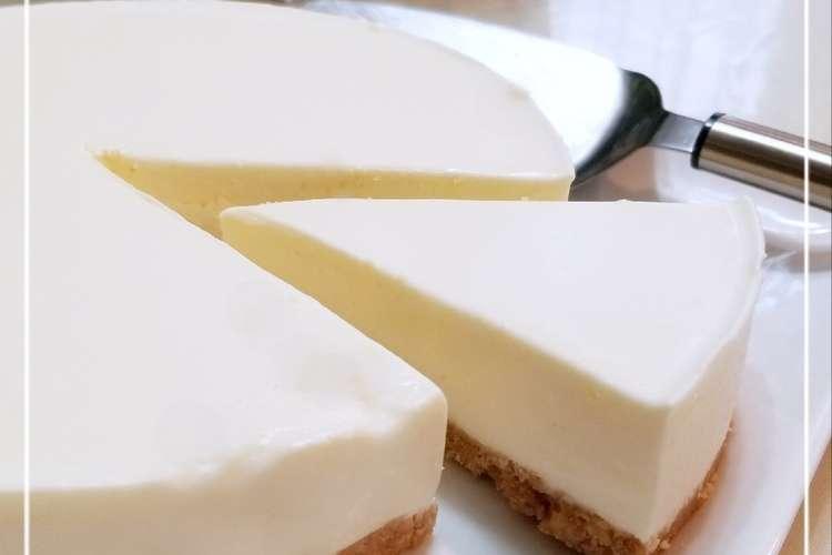 レアチーズ ケーキ クックパッド